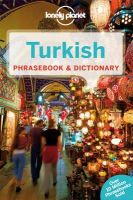 Lonely Planet - Lonely Planet Turkish Phrasebook & Dictionary (Lonely Planet Phrasebook and Dictionary) - 9781743211953 - V9781743211953