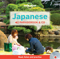 Lonely Planet - Lonely Planet Japanese Phrasebook and Audio CD - 9781743603734 - V9781743603734