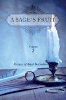 Ashlag, Rav Yehuda - A Sage's Fruit (Volume 2) - 9781772280074 - V9781772280074