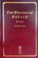 Ashlag, Baruch - The Writings of RABASH - Essays - 9781772280166 - V9781772280166