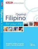 Berlitz - Berlitz Filipino For Your Trip - 9781780044170 - V9781780044170