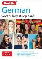 Berlitz - Berlitz Language: German Study Cards (Berlitz Vocabulary Study Cards) - 9781780044675 - V9781780044675