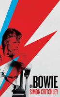 Critchley, Simon - On Bowie - 9781781257456 - V9781781257456