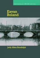 Randolph, Jody Allen - Eavan Boland (Contemporary Irish Writers) - 9781782050841 - V9781782050841