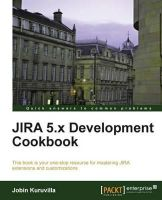 Kuruvilla, Jobin - JIRA 5.x Development Cookbook - 9781782169086 - V9781782169086