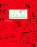 Weltman, Anna - This is Not a Maths Book: A Graphic Activity Book - 9781782402053 - V9781782402053