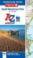 Geographers' A-Z Map Co Ltd - SW Coast Path Dorset Adventure Atlas - 9781782571544 - V9781782571544