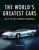 Cheetham, Craig - The World's Greatest Cars - 9781782744702 - V9781782744702