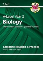 CGP Books - New 2015 A-Level Biology: Edexcel A Year 2 Complete Revision & Practice - 9781782943389 - V9781782943389