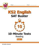 CGP Books - New KS2 English SAT Buster 10-Minute Tests: Reading Book 2 - 9781782944799 - V9781782944799