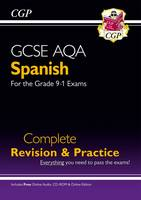 CGP Books - New GCSE Spanish AQA Complete Revision & Practice (with CD & Online Edition) - Grade 9-1 Course - 9781782945482 - V9781782945482