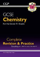 CGP Books - New Grade 9-1 GCSE Chemistry Complete Revision & Practice with Online Edition - 9781782945901 - V9781782945901