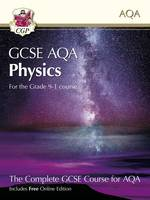 CGP Books - New Grade 9-1 GCSE Physics for AQA: Student Book with Interactive Online Edition - 9781782945970 - V9781782945970