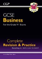 CGP Books - New GCSE Business Complete Revision and Practice - For the Grade 9-1 Course (with Online Edition) - 9781782946915 - V9781782946915