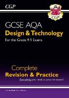 CGP Books - New Grade 9-1 Design & Technology AQA Complete Revision & Practice (with Online Edition) - 9781782947554 - V9781782947554