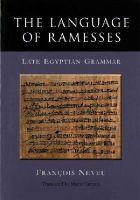 Neveu, Francois - The Language of Ramesses: Late Egyptian Grammar - 9781782978688 - V9781782978688