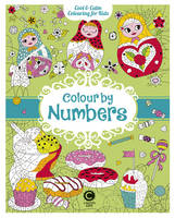 Eugenie Varone - Cool Calm Colouring for Kids: Colour by Numbers - 9781783122356 - V9781783122356