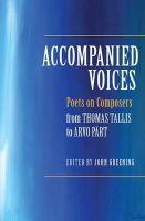 - Accompanied Voices - 9781783270156 - V9781783270156