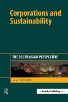 P.D. Jose - Corporations and Sustainability: The South Asian Perspective - 9781783530847 - V9781783530847