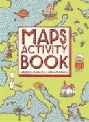 Mizielinska, Aleksandra, Mizielinski, Daniel - Maps Activity Book - 9781783701094 - V9781783701094