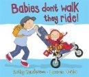 Kathy Henderson - Babies Don't Walk - 9781783701414 - KRS0030411