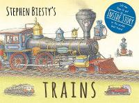 Graham, Ian - Stephen Biesty's Trains: Cased Board Book with Flaps - 9781783704248 - V9781783704248