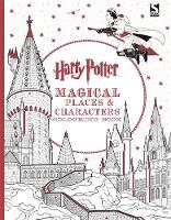 Warner Bros. - Harry Potter Magical Places and Characters Colouring Book - 9781783706006 - V9781783706006