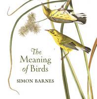 Barnes, Simon - The Meaning Of Birds - 9781784970703 - V9781784970703