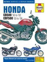 NA - Honda CB500 Service and Repair Manual - 9781785210013 - V9781785210013