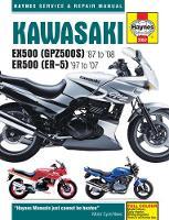 Editors of Haynes Manuals - Kawasaki EX500 (GPZ500s) & ER500 (ER-5) Motorcycle Service and Repair Manual - 9781785212932 - V9781785212932