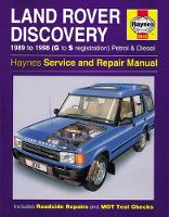 Anon - Land Rover Discovery Petrol and Diesel Owners Workshop Manual - 9781785213304 - V9781785213304