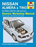 Anon - Nissan Almera & Tino Service and Repair Manual: 00-07 - 9781785213366 - V9781785213366