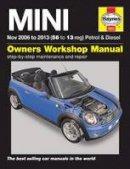 - Mini Petrol and Diesel Owners Workshop Manual 2006-2013 - 9781785213649 - V9781785213649