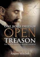 Angus Mitchell - One Bold Deed of Open Treason: The Berlin Diary of Roger Casement 1914-1916 - 9781785370571 - V9781785370571