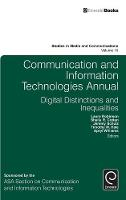 Laura Robinson - Communication and Information Technologies Annual - 9781785603815 - V9781785603815
