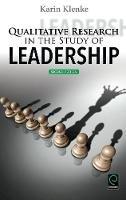 Klenke, Karin - Qualitative Research in the Study of Leadership - 9781785606519 - V9781785606519