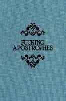 Griffin, Simon - Fucking Apostrophes - 9781785781414 - V9781785781414