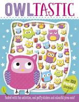 Make Believe Ideas - Owltastic Puffy Sticker Book - 9781785985225 - V9781785985225