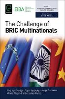 Rob van Tulder - The Challenge of Bric Multinationals (Progress in International Business Research) - 9781786353504 - V9781786353504