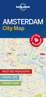 Lonely Planet - Lonely Planet Amsterdam City Map (Travel Guide) - 9781786574091 - V9781786574091