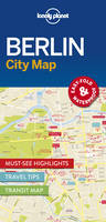 Lonely Planet - Lonely Planet Berlin City Map (Travel Guide) - 9781786574114 - V9781786574114