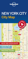 Lonely Planet - Lonely Planet New York City Map (Travel Guide) - 9781786574145 - V9781786574145