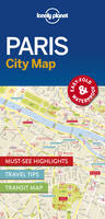 Lonely Planet - Lonely Planet Paris City Map (Travel Guide) - 9781786574152 - V9781786574152