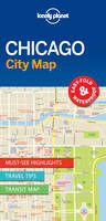 Lonely Planet - Lonely Planet Chicago City Map (Travel Guide) - 9781786575012 - V9781786575012