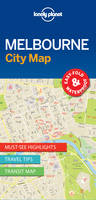 Lonely Planet - Lonely Planet Melbourne City Map (Travel Guide) - 9781786575029 - V9781786575029