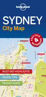 Lonely Planet - Lonely Planet Sydney City Map (Travel Guide) - 9781786577825 - V9781786577825