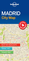 Lonely Planet - Lonely Planet Madrid City Map (Travel Guide) - 9781786577856 - V9781786577856