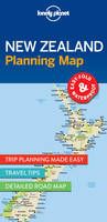 Lonely Planet - Lonely Planet New Zealand Planning Map - 9781786579041 - V9781786579041