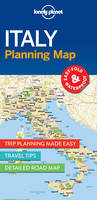 Lonely Planet - Lonely Planet Italy Planning Map - 9781786579072 - V9781786579072