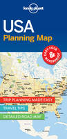Lonely Planet - Lonely Planet USA Planning Map - 9781786579096 - V9781786579096